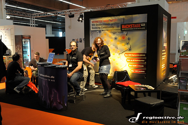regioactive.de und Backstage PRO auf der Internationalen Musikmesse 2012